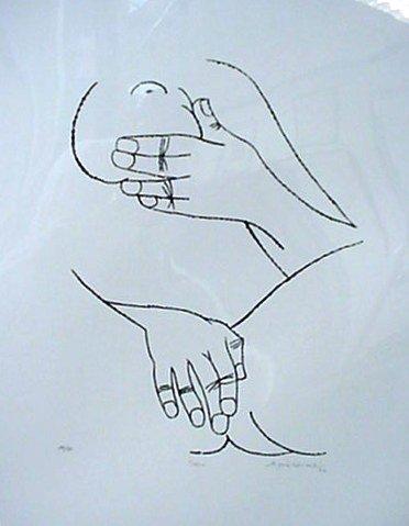 5506: Jorge Dumas Pencil Signed & Numbered