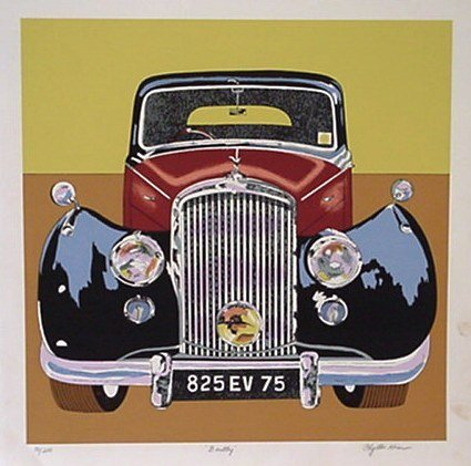 5508: Phyllis Krim Rolls Royce Signed & Numbered