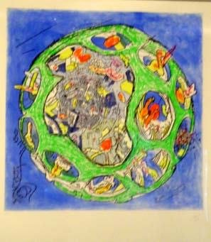 5567: Roberto Matta Lithograph Signed & Numbered