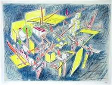 Roberto Matta Pencil Signed & Numbered