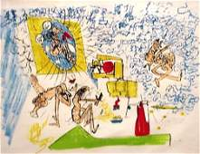 Roberto Matta Pencil Signed & Numbered