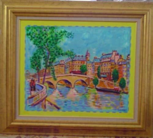 5677: Wayne Ensrud Oil on Canvas