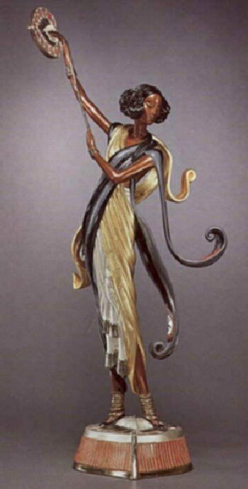 5695: Erte Bronze Limited Edition Signed & Numbered