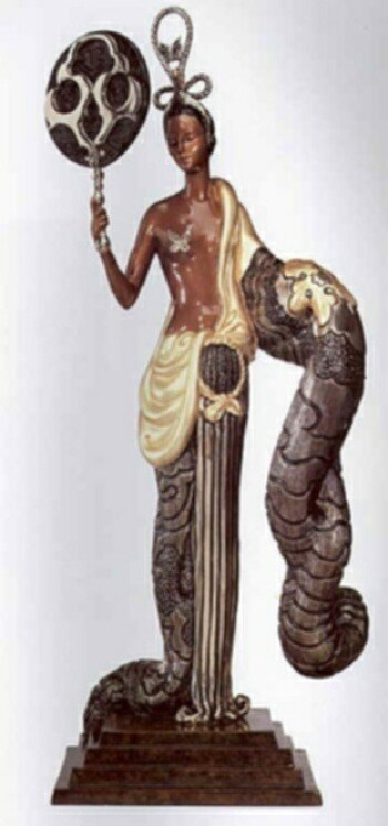 5696: Erte Bronze Limited Edition Signed & Numbered