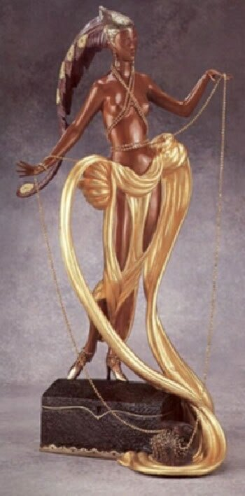 5698: Erte Bronze Limited Edition Signed & Numbered