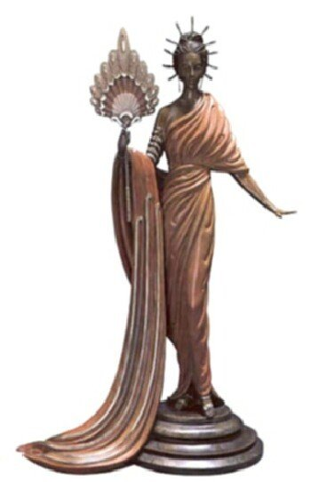 5700: Erte Bronze Limited Edition Signed & Numbered