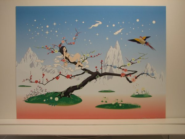 3509: Chiho Aoshima (Murakami Studio) Lithograph Signed