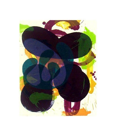 3522: Charles Arnoldi Lithograph Pencil Signed & Number