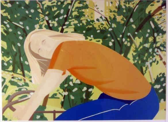 3735: Alex Katz Lithograph Pencil Signed & Numbered