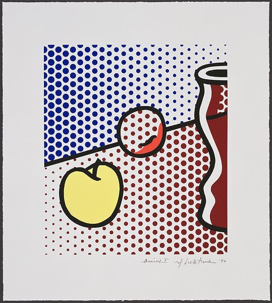 4411: Roy Lichtenstein Screenprint Pencil Signed & Numb