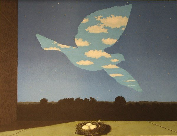 4424: Rene Magritte Lithograph Signed & Numbered
