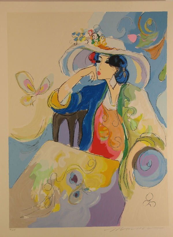 4425: Issac Maimon Serigraph Pencil Signed & Numbered