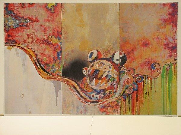 4476: Takashi Murakami Lithograph Signed & Numbered