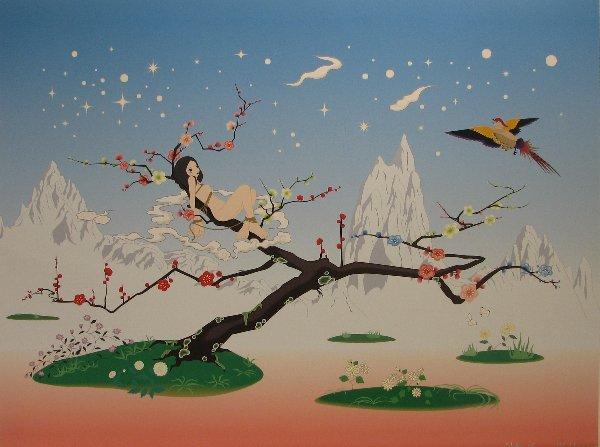 4108: Chiho Aoshima (Murakami Studio) Lithograph Signed