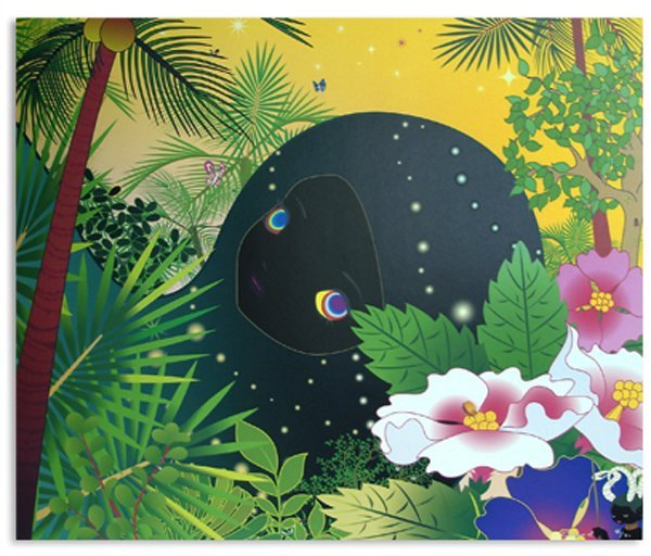 4112: Chiho Aoshima (Murakami Studio) Lithograph Signed