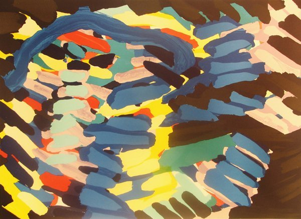 4113: Karel Appel Lithograph Pencil Signed & Numbered