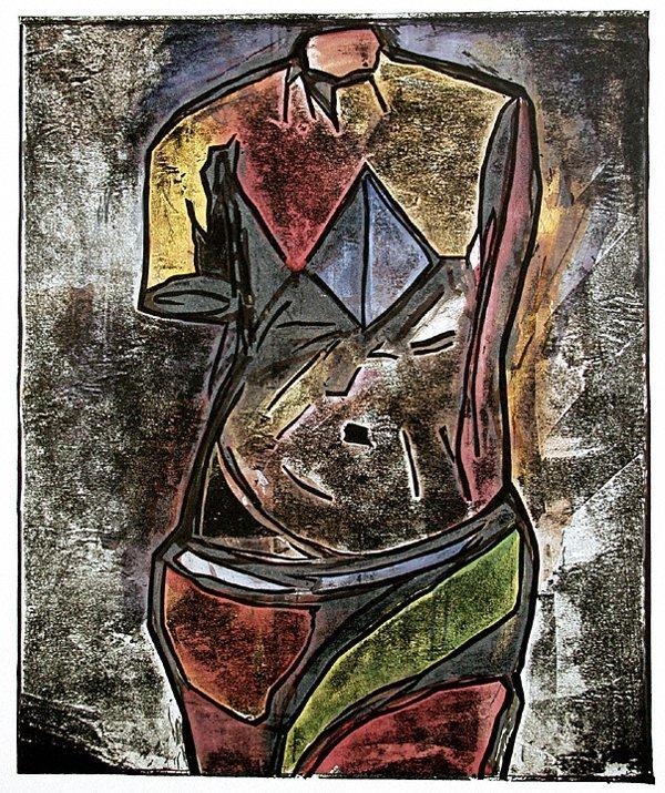 4267: Jim Dine Venus Woodcut Pencil Signed & Numbered