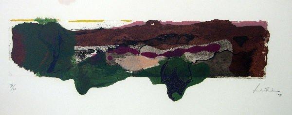 4293: Helen Frankenthaler Etching & Aquatint Signed & N