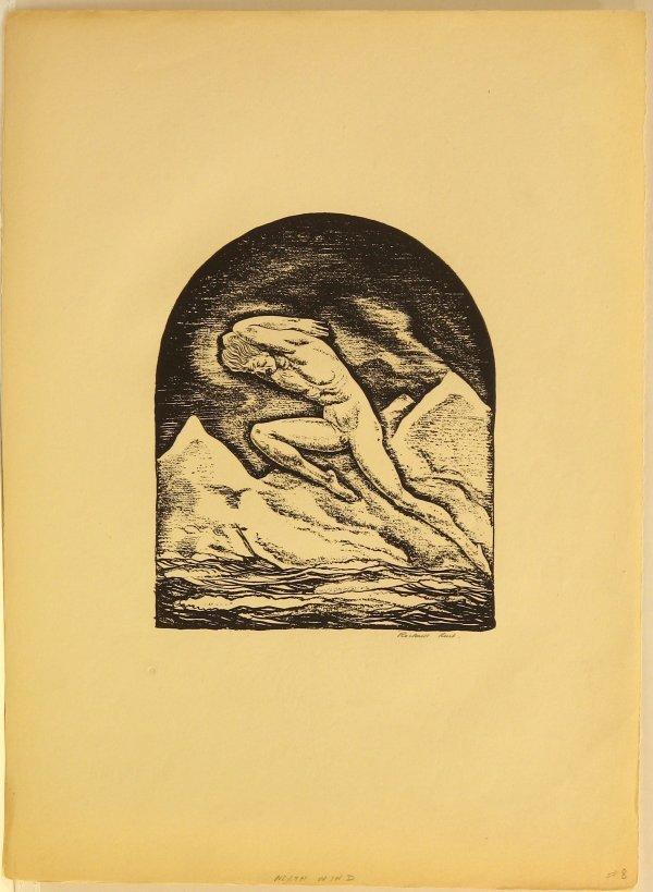 5776: Rockwell Kent WPA Lithograph Pencil Signed Editio
