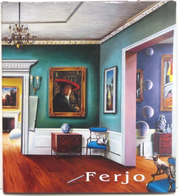 95: Ferjo Hard Cover Book Signed By Artist