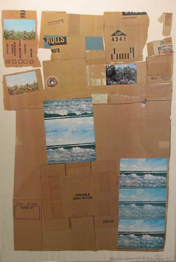 250: Rauschenberg  Screenprint and  Collage  Sign/Numbe