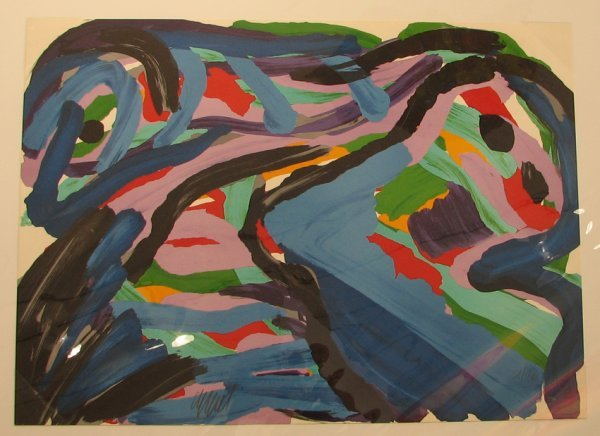 1015: Karel Appel Lithograph Pencil Signed & Numbered