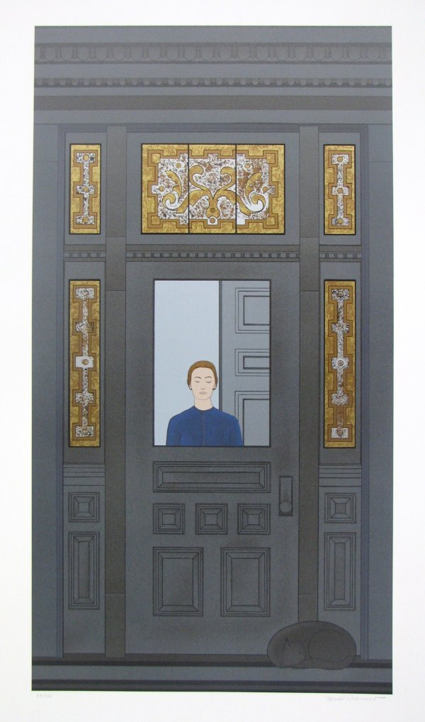 1021: Will Barnet Silkscreen Pencil Signed & Numbered