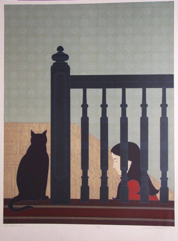1422: Will Barnet Lithograph Pencil Signed & Numbered