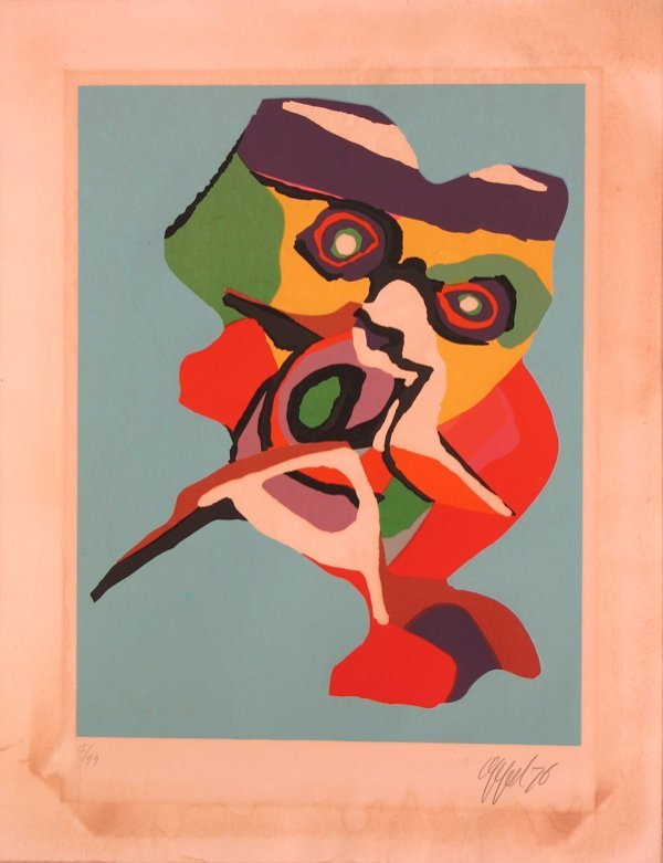 2009: Karel Appel Lithograph Pencil Signed & Numbered