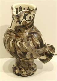 2226: Pablo Picasso Ceramic Owl Madura Signed & Numbere