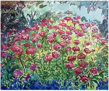 1004A: Janinne Aronov Alter Impressionist Lithograph Si
