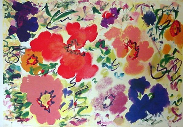 509: Helen Covensky Flowers Signed & Numbered