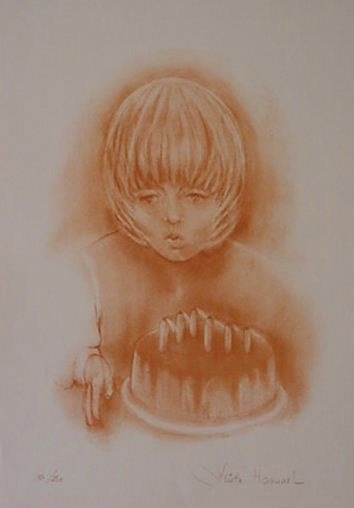 512: Fliette Honnart Pencil Signed & Numbered