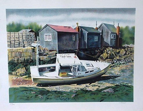 519: Joseph Correale Boat Pencil Signed & Numbered