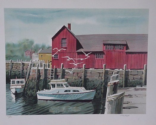 520: Joseph Correale Boat Pencil Signed & Numbered