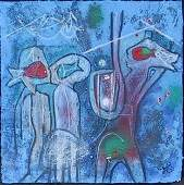 591 Roberto Matta Carborundum Etching Signed  Numbere