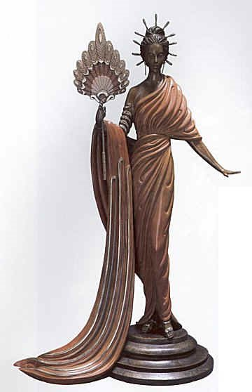 799: Erte Bronze Limited Edition Signed & Numbered