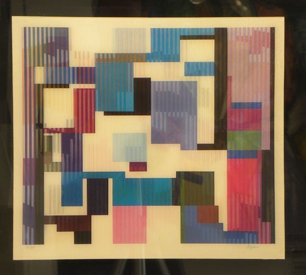 2002: Yaacov Agam Agamograph Signed & Numbered