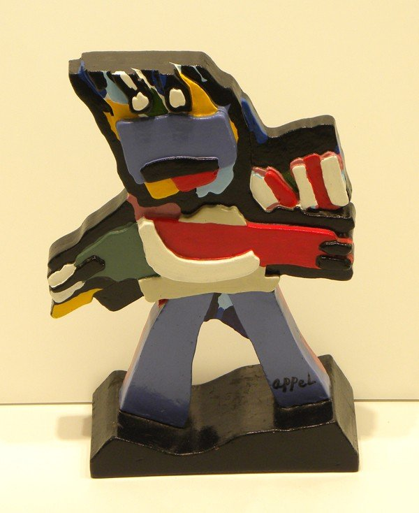 2012: Karel Appel Sculpture Signed & Numbered