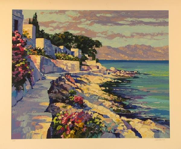2024: Howard Behrens Serigraph Signed & Numbered Huge P