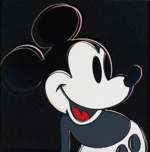 2389: Andy Warhol Mickey Mouse Signed & Numbered