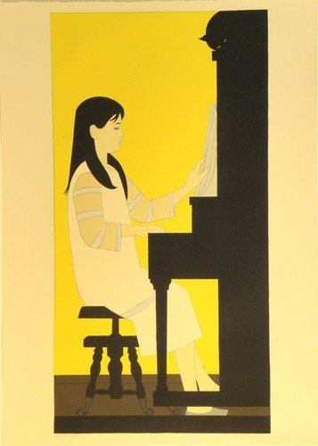 3321: Will Barnet Serigraph Pencil Signed & Numbered
