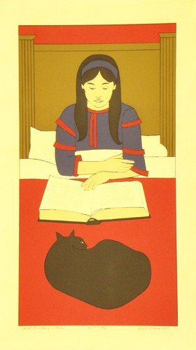 3323: Will Barnet Serigraph Pencil Signed & Numbered