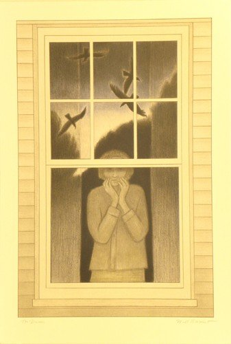 3324: Will Barnet Lithograph Pencil Signed & Numbered