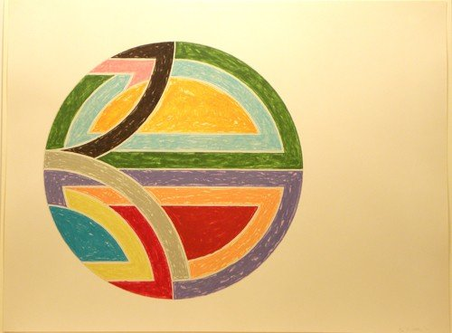 3642: Frank Stella Lithograph Pencil Signed & Numbered
