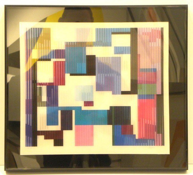 4004: Yaacov Agam Agamograph Signed & Numbered