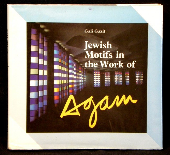4005: Yaacov Agam Book Hardcover