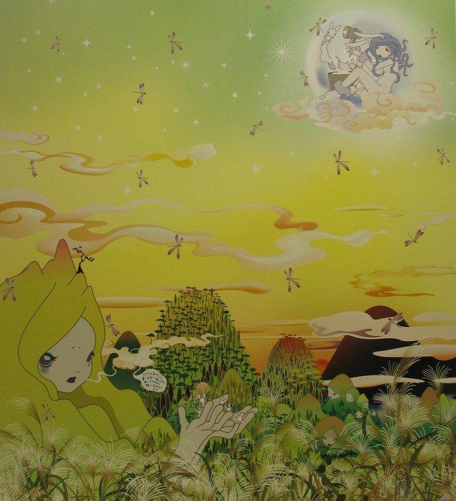 4008: Chiho Aoshima (Murakami Studio) Lithograph Signed