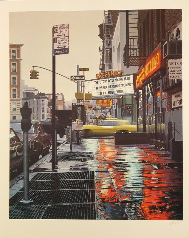4036: Davis Cone Hyper Photo Realism Signed & Numbered