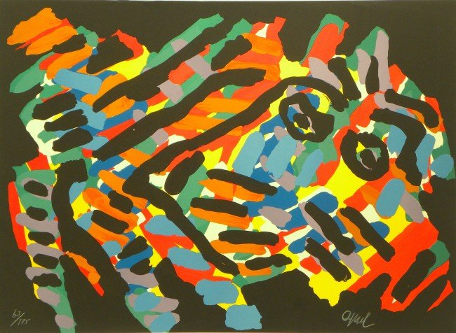 5004A: Karel Appel Lithograph Pencil Signed & Numbered